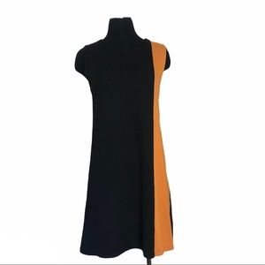 ZARA KNIT Sleeveless Shift Dress Size Medium